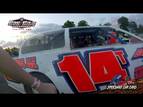 #14T Chris Tippit - Street Stock - 5-24-19 Gas City I-69 Speedway - In Car Camera