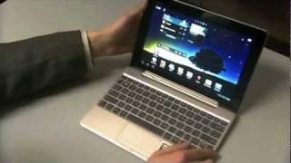Обзор (видео обзор) планшета Asus Eee Pad Transformer Prime TF201(Asus Transformer Prime TF201 - новый планшет Asus, устройство из линейки ASUS Transformer на базе ОС Google Android и процессора NVIDIA Tegra,..., 2012-02-06T18:15:44.000Z)