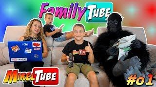 Family Tube  #01 Papa el Gamer  WebSerie MikelTube