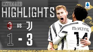 Milan 1-3 Juventus | Federico Chiesa & Weston McKennie Seal Huge San Siro Win! | EXTENDED Highlights