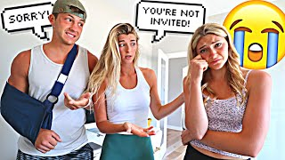 Telling Our Friends They're not Invited To The Wedding! *PRANK*
