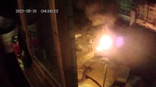 Пожар на 1-м пер. Красной слободы в Твери. 15.03.2013