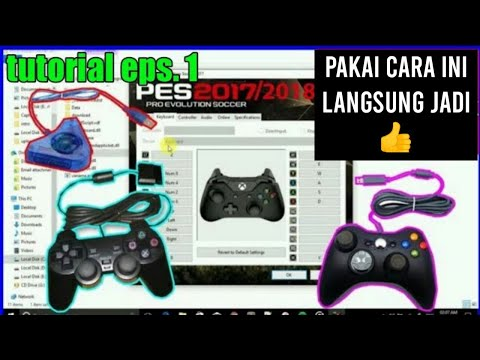 ( Recommended ) How To Setting Joystick Pes, 2016, 2013, 2017, All Pro Evolution Soccer - Work 100%