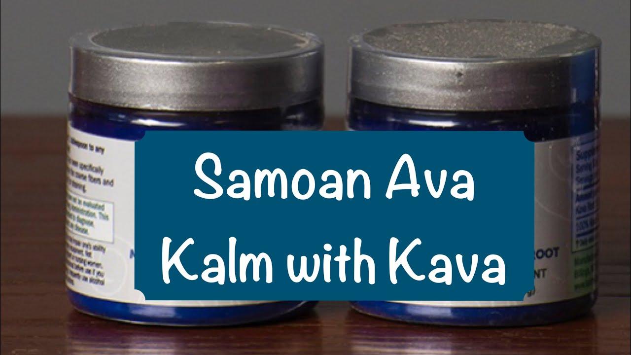Samoa Ava Kava Review - Kalm with Kava - YouTube