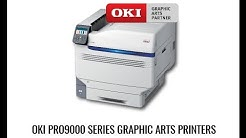Watch the OKI Pro 9541 LED 5 Colour Digital Printer in action