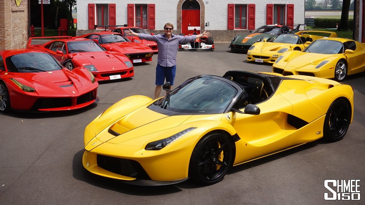 Collecting My Friend S New Laferrari Aperta Youtube