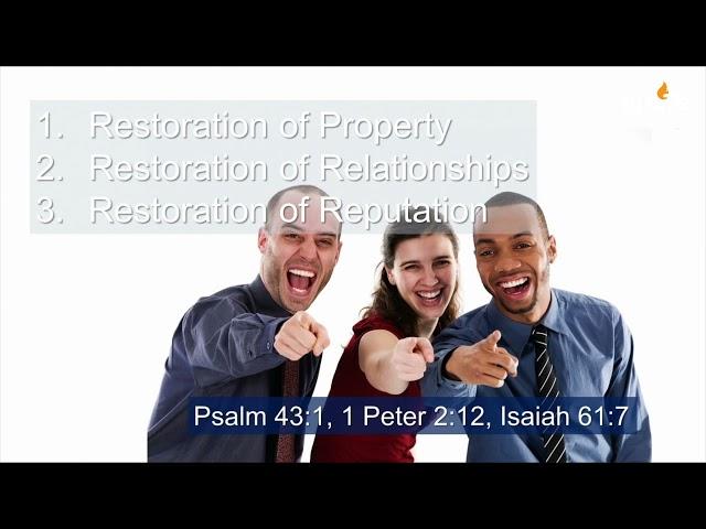 Ps Darin Browne - Restoration