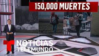 Estados Unidos alcanza las 150,000 muertes a causa del COVID-19 | Noticias Telemundo