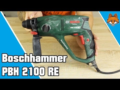 boschhammer pbh 2100 re bohrhammer im test youtube. Black Bedroom Furniture Sets. Home Design Ideas