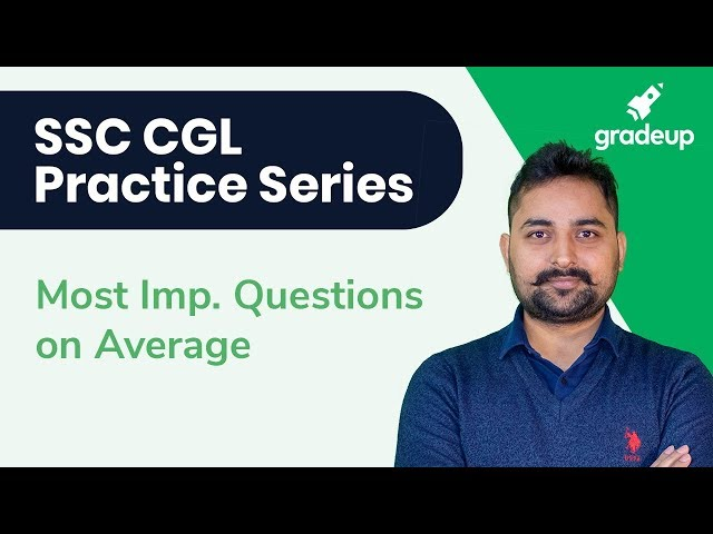 SSC CGL Practice Series || Math || Most Important Questions On Average || Randhir Singh