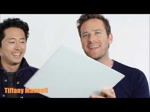 Armie Hammer  Funny Moments