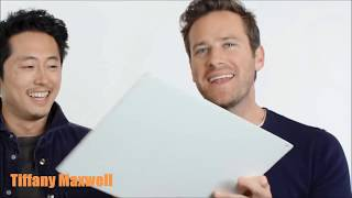 Armie Hammer - Funny Moments