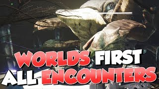 Worlds First Last Wish! All Boss Fights and Encounters