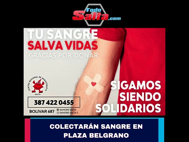 COLECTA SANGRE