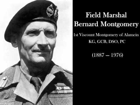 General Bernard Montgomery on the eve of the D-Day, 5 June 1944