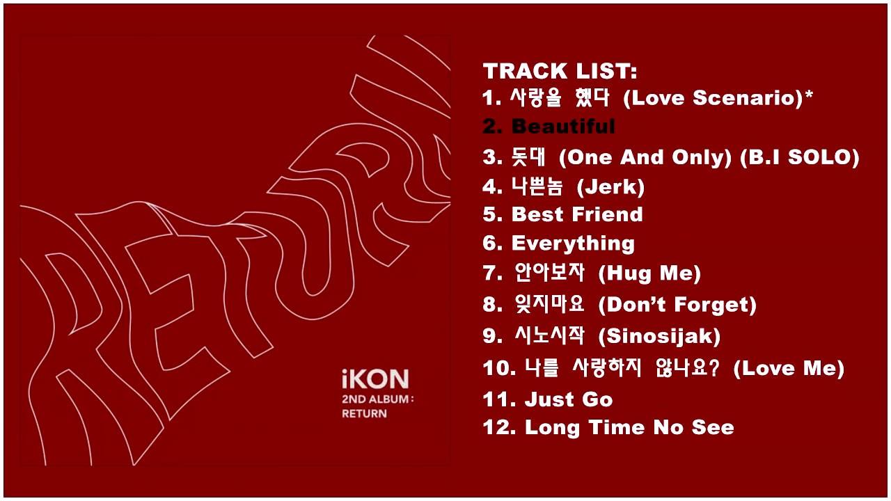 Appreciation threads] iKON Love Scenario, Return album, 6