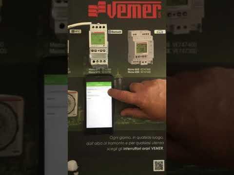 Schema Collegamento Orologio Vemer : Programmazione memo bt1 vemer youtube