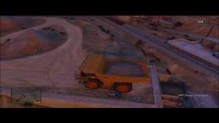 GTA 5 - Secret Car Location 'HVY Dump Truck' (BIGGEST VEHICLE IN THE GAME)