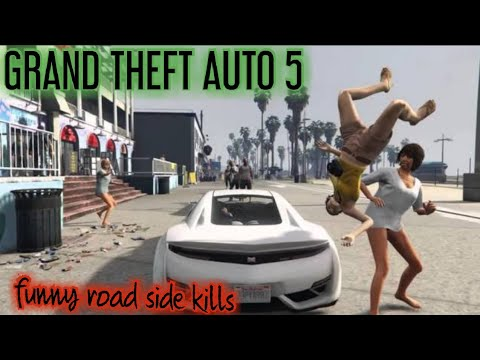 #shorts GTA 5 funny car hijacking and driving funny short