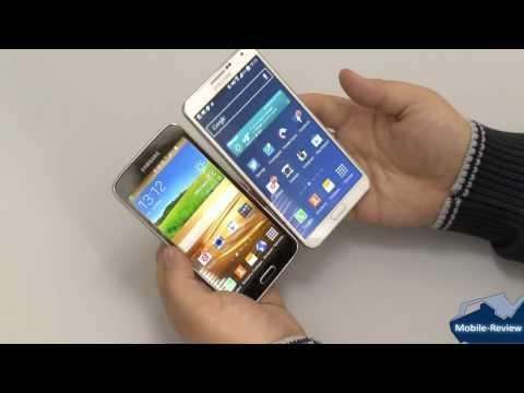 Обзор сравнение Samsung Galaxy S5 и Note 3