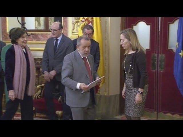 El Defensor del Pueblo presenta en el Parlamento el informe Anual 2017