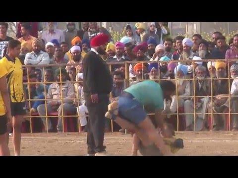 KHOJKIPUR (Amritsar) !! KABADDI TOURNAMENT - 2016 !! GIRLS ! PUNJAB vs HARYANA !! Full HD !!