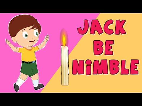 Nursery Rhyme Street   Jack Be Nimble   Nursery Rhymes and Kids Songs - Ep. 43