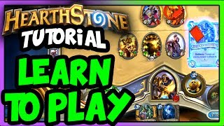 How to Play Hearthstone - Hearthstone Tutorial Lesson Part 1 (Arena and Constructed for Beginners)