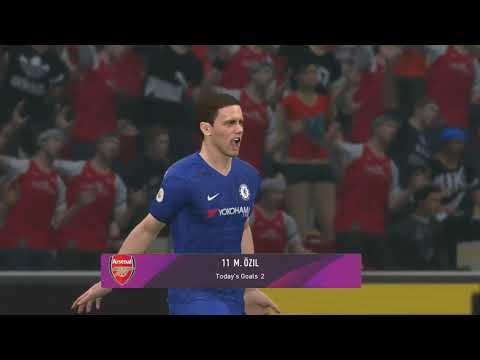 PES 2020 Gameplay |Arsenal v Chelsea | PES for PC |