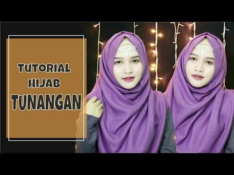 Tutorial Hijab Buat Tunangan Versi Menutup Dada Amaliakurnia 2018 Youtube
