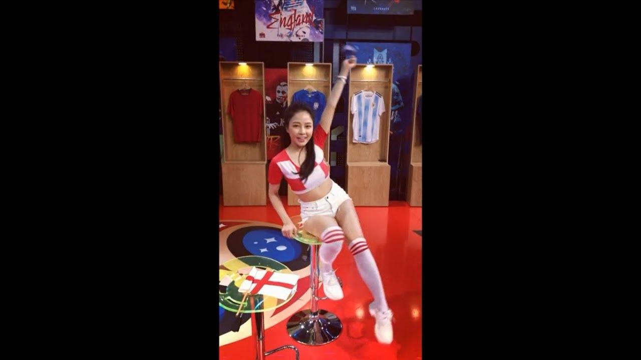Cùng Hot Girl Trâm Anh Cổ Vũ Đội Tuyển Croatia Hướng Đến Trận Chung Kết World Cup