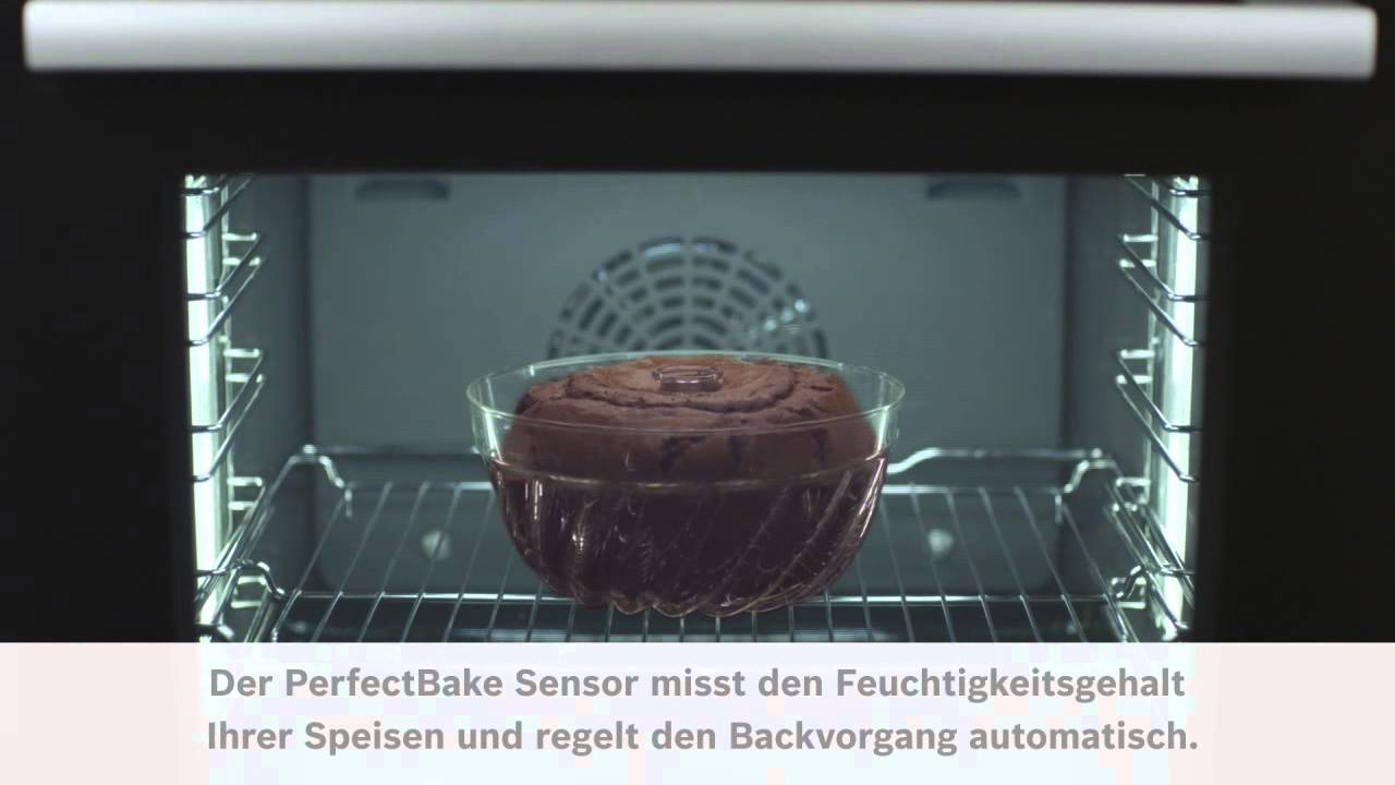 bosch sensor backofen serie 8 perfectbake youtube. Black Bedroom Furniture Sets. Home Design Ideas