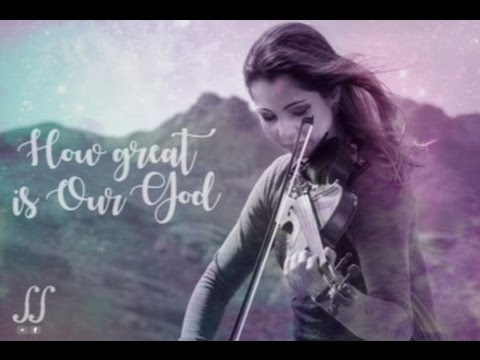 How great is Our God // Maressa Carneiro // Violin Looping Cover
