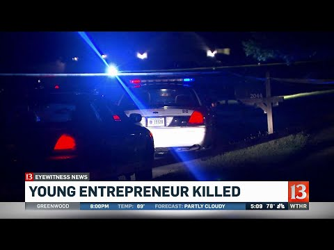 Young entrepreneur killed