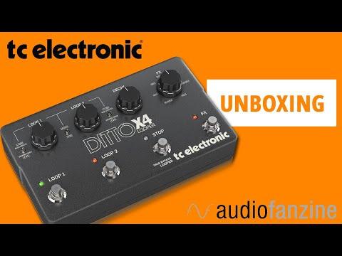 TC Electronic Ditto X4 - Déboîtage