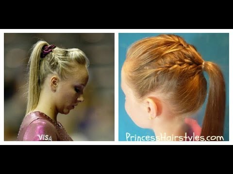 Image result for gymnastics hairstyles