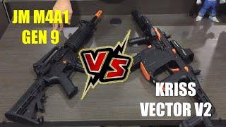 JM M4A1 J9 Vs LEHUI KRISS VECTOR V2 (Which One You Like More?) - Blasters Mania