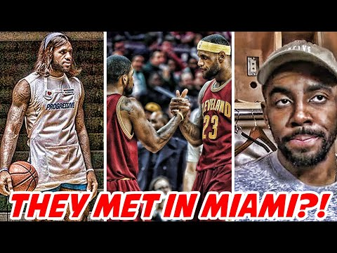 LEBRON AND KYRIE MEET IN MIAMI!? D WADE TO GET BOUGHT OUT! | NBA News