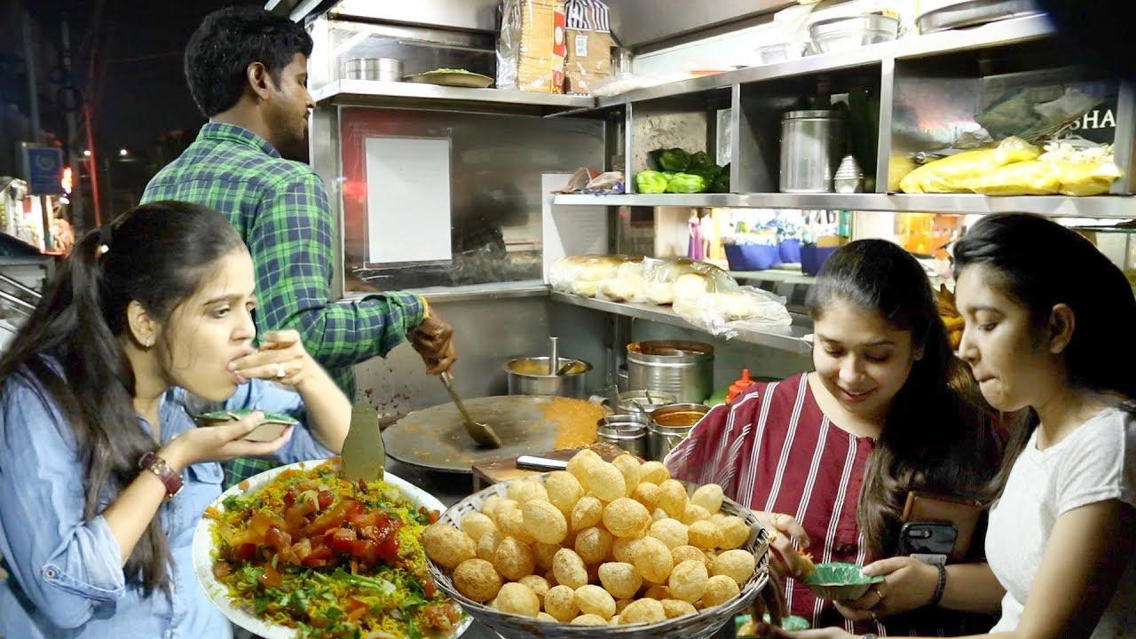 Pani Puri Recipe | Best Pani Puri Center In Hyderabad | Street Food Recipes | FoodCrafts