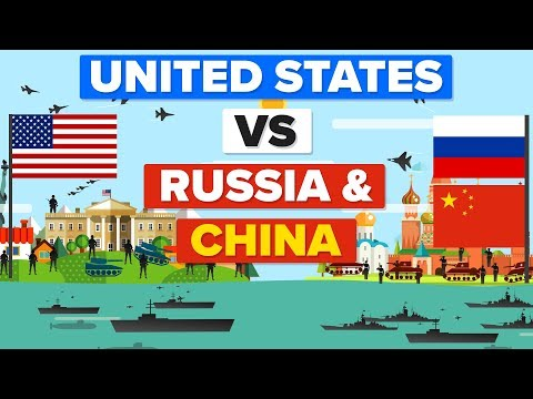 United States (USA) vs Russia and China - Who Would Win? Mil