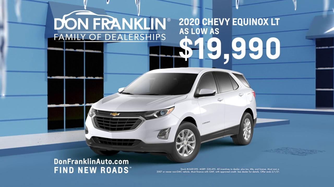 Don Franklin Chevrolet January 2021 Youtube