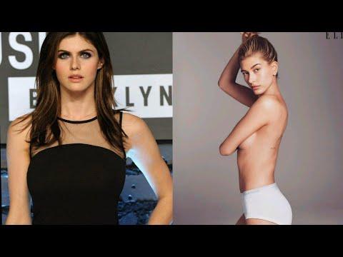 Download Alexandra Daddario vs Hailey Baldwin Who is best?