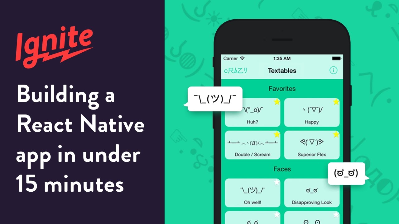 Building a React Native App in Under 15 Minutes