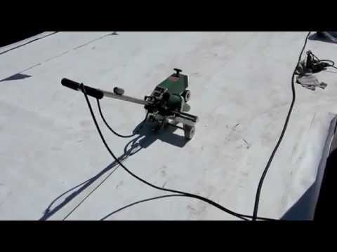 Versico Roofing Systems Demonstration / TPO