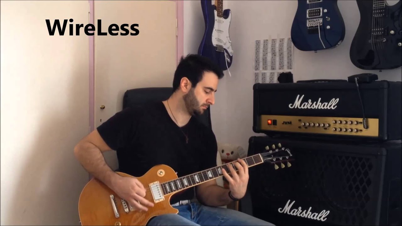wireless guitar system vs guitar cable youtube. Black Bedroom Furniture Sets. Home Design Ideas