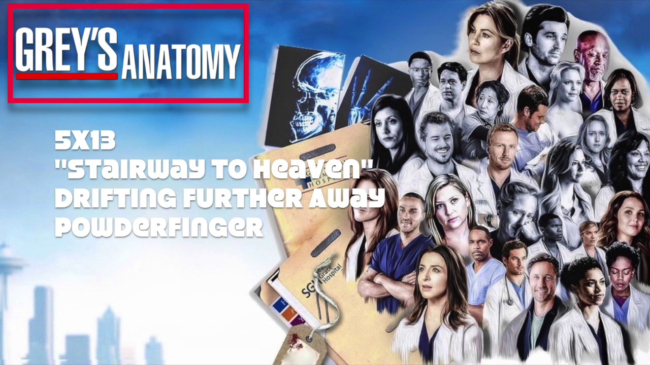 """Grey's Anatomy Soundtrack - """"Drifting Further Away"""" by ..."""