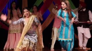 Malwai Giddha   Sangeet   Indian Punjabi Wedding   Performance   Perfect Media