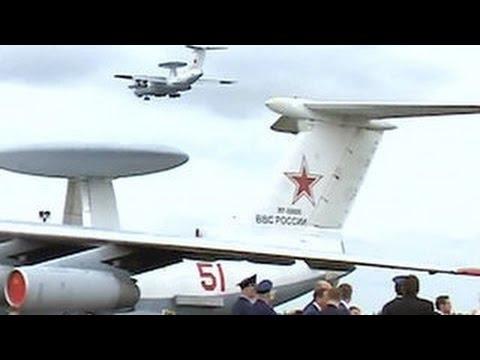 В Иваново зрителям показали уникальные военные самолеты