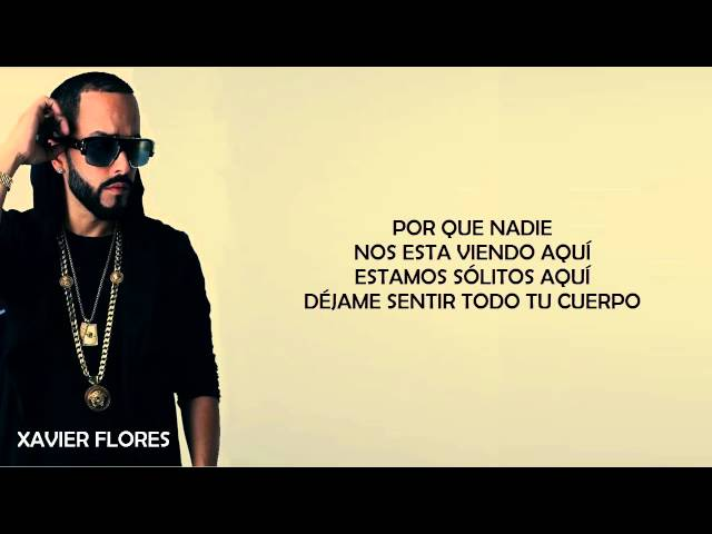 Encantadora - Yandel | (2015 Official Lyric Video) Letras Oficial