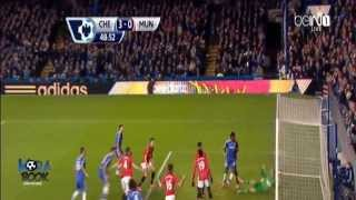 BIG MATCH Chelsea Vs Manchester United 3 1 | Highlights All Goals 19/01/2014 HD